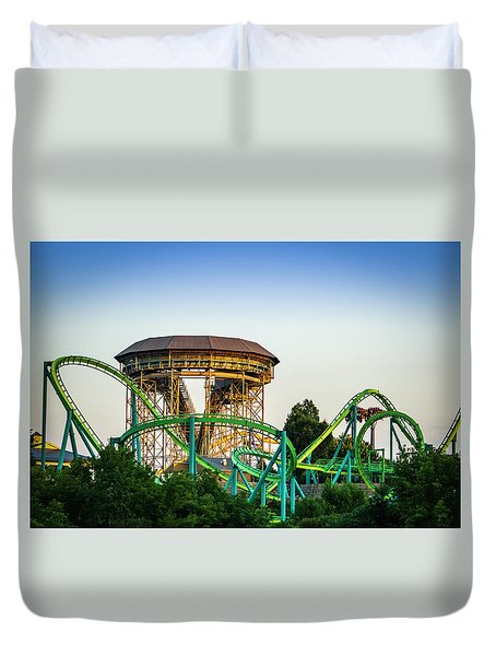 Inversions Duvet Cover