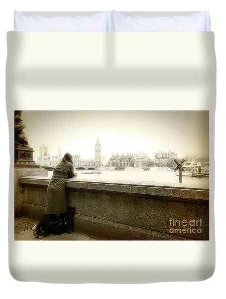 I Will Remember Duvet Cover