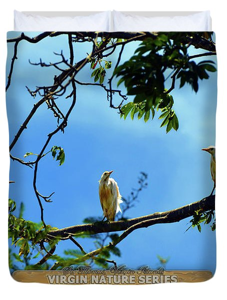 Ibis Perch - Virgin Nature Series Duvet Cover