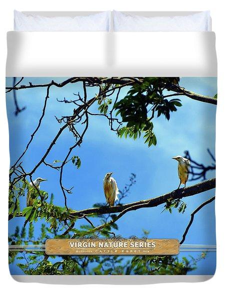 Ibis Perch - Virgin Nature Series Duvet Cover