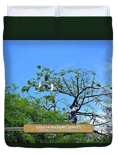 Ibis Risen - Virgin Nature Series Duvet Cover