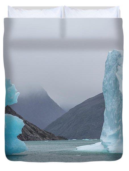 Ice Giants Duvet Cover