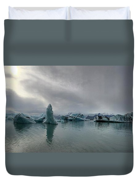 Ice Lagoon Duvet Cover