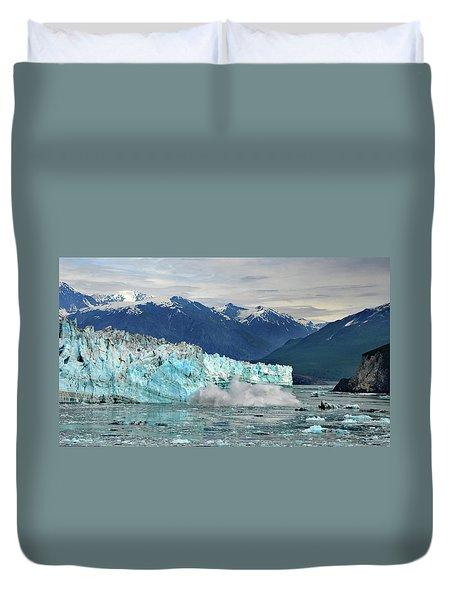 Iceberg Splash Hubbard Glacier Duvet Cover