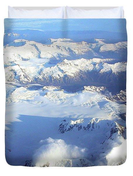 Icebound Mountains Duvet Cover
