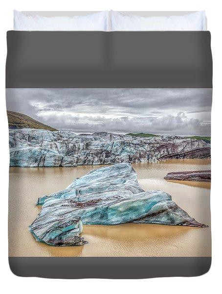 Iceberg Of Iceland Duvet Cover
