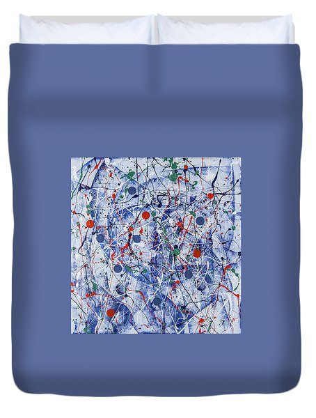 Icy Universe Duvet Cover