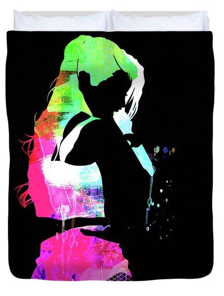 Iggy Watercolor II Duvet Cover