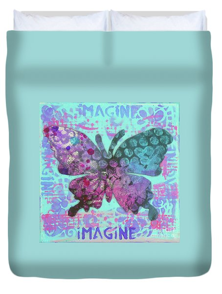 Imagine Butterfly 2 Duvet Cover