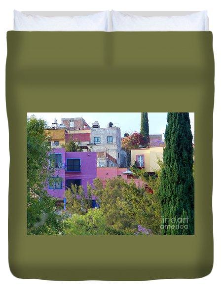 Duvet Cover featuring the photograph Imagine This by Rosanne Licciardi