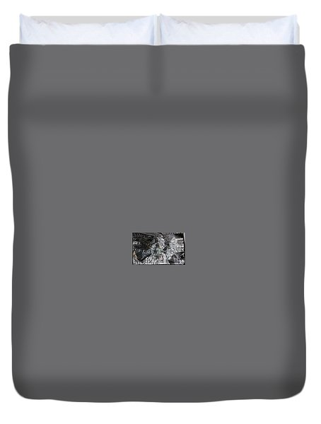 Immersed And Flawed By Cash Flow Duvet Cover