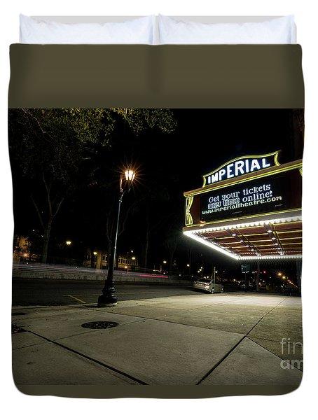 Imperial Theatre Augusta Ga Duvet Cover