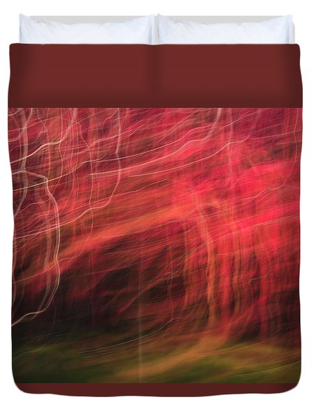 In Depth Of A Forest Duvet Cover