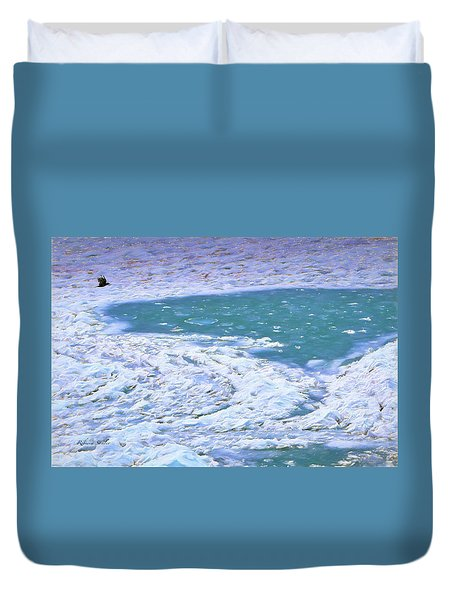 In Search Of Open Water Duvet Cover