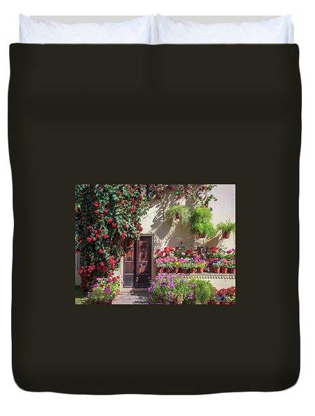 In The Garden Duvet Cover