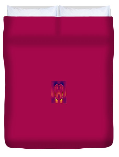 In The Heat Of Passion Duvet Cover