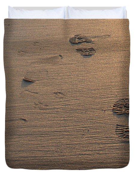 In The Sand Duvet Cover