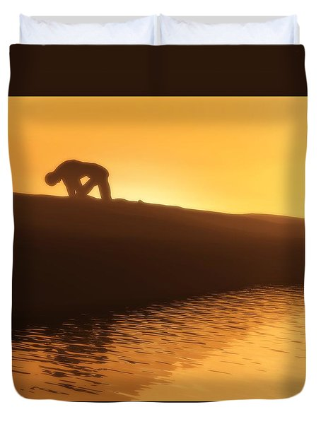 Indomitable Duvet Cover