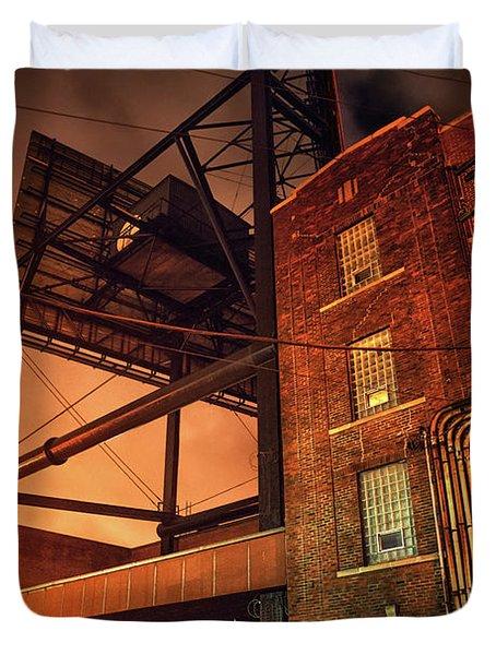 Industrial Sky Duvet Cover