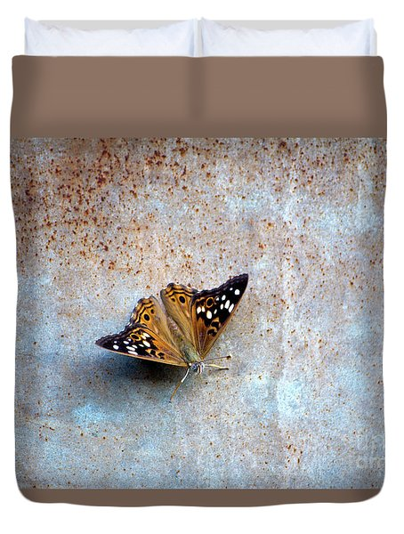 Industrious Butterfly Duvet Cover