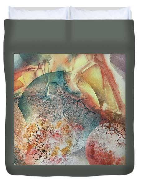 Infinite Worlds Duvet Cover