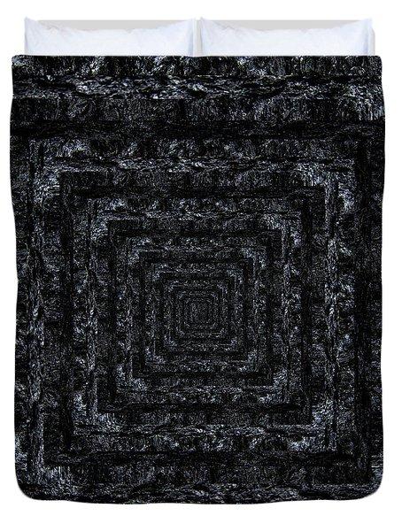 Infinity Tunnel Burnt Bark Duvet Cover