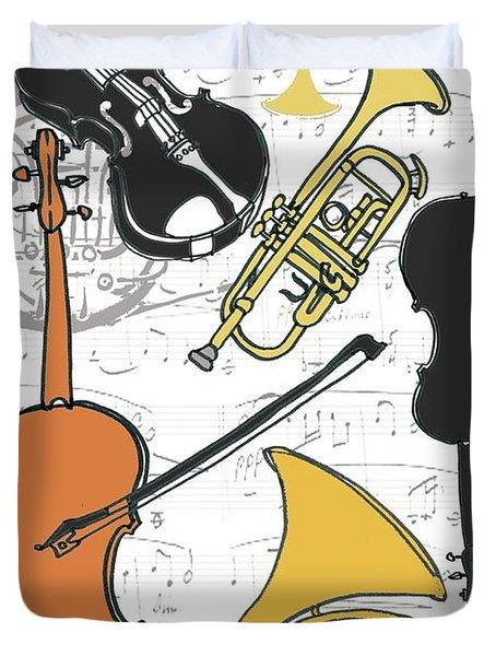 Instruments Duvet Cover