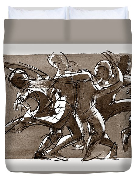 Interaction Duvet Cover