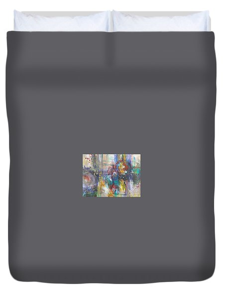 Interconnected Duvet Cover