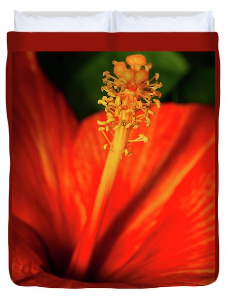 Into A Flower Duvet Cover