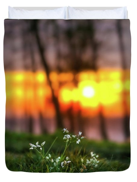 Duvet Cover featuring the photograph Into Dreams by Davor Zerjav