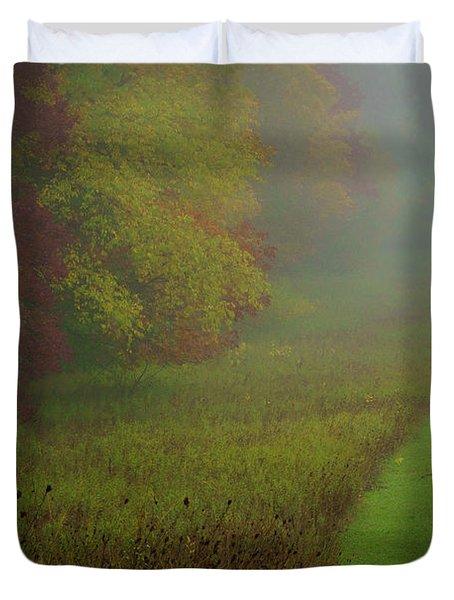 Into The Fog Duvet Cover