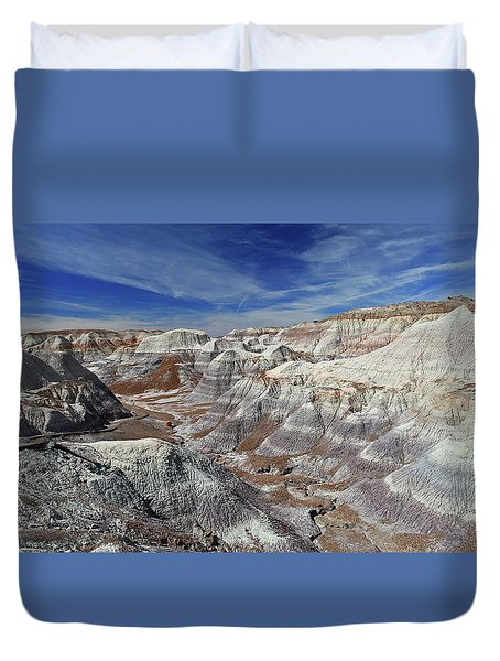 Into The Past Duvet Cover
