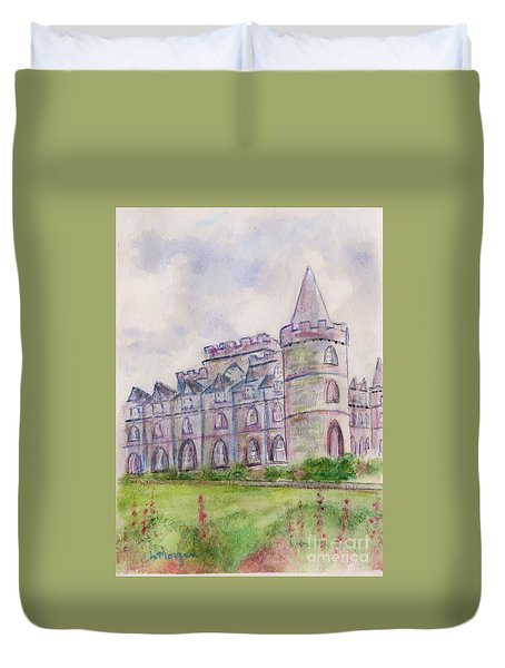 Inverary Castle Duvet Cover