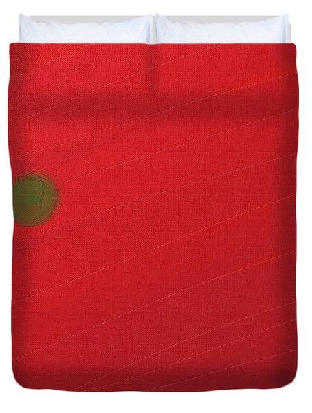 Inverse Sunset Duvet Cover