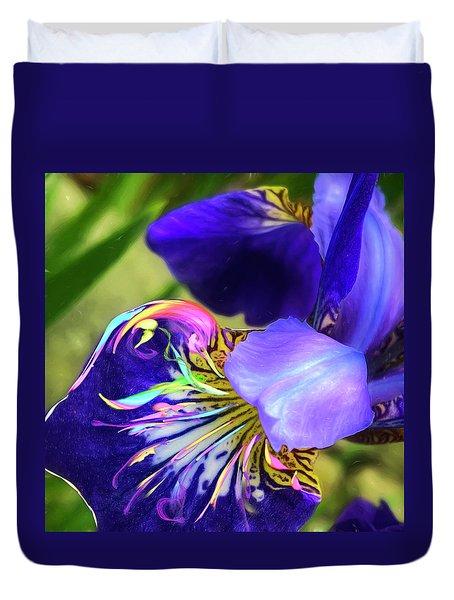 Iris Osirus Duvet Cover