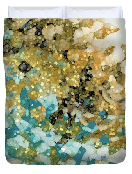 Isaiah 26 3. In Perfect Peace Duvet Cover