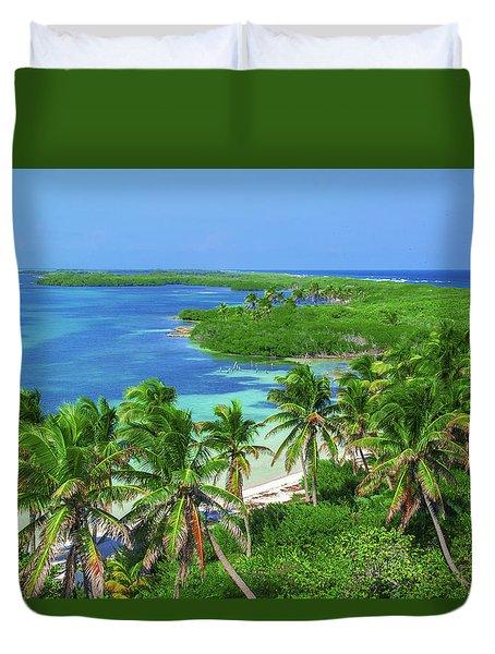 Isla Contoy Duvet Cover
