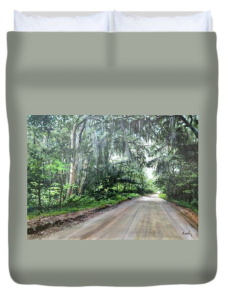 Island Road Duvet Cover