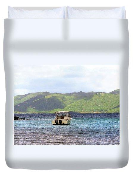 Island View Duvet Cover