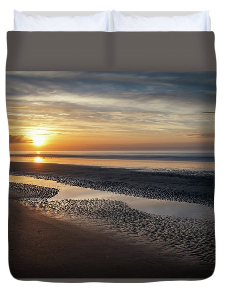 Isle Of Palms Morning Patterns Duvet Cover