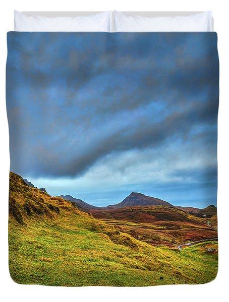 Isle Of Skye Landscape #i1 Duvet Cover