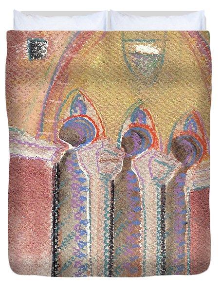 Italian Arch Duvet Cover
