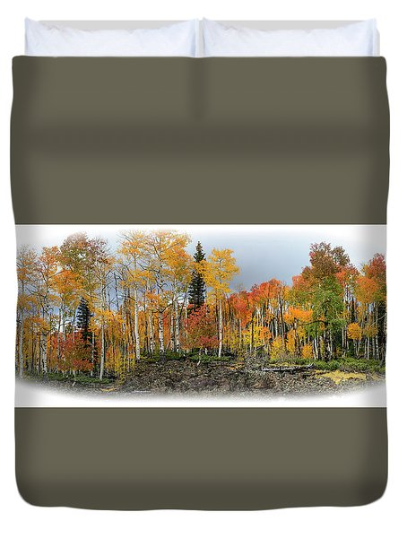It's All About The Trees Duvet Cover