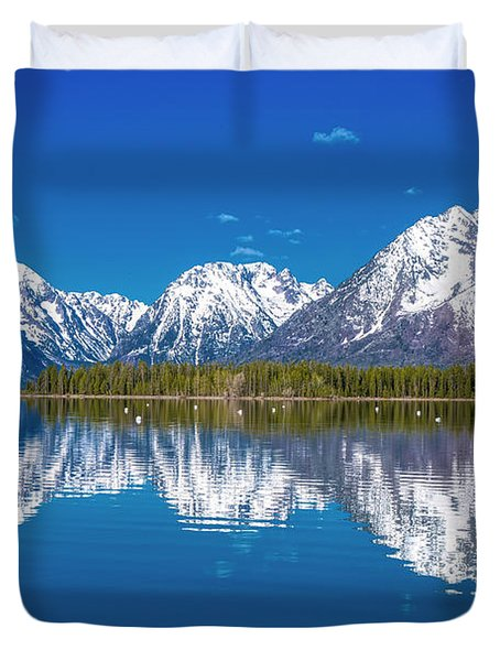 Jackson Lake Duvet Cover