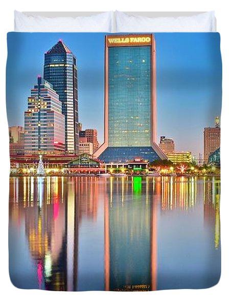 Jacksonville Reflecting Duvet Cover