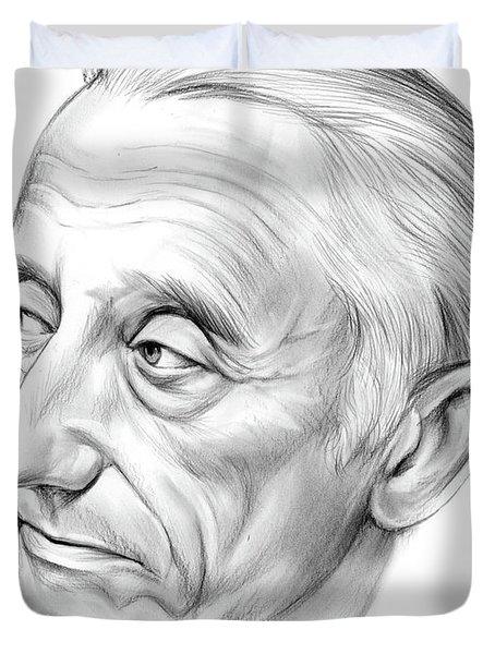Jacques-yves Cousteau Duvet Cover