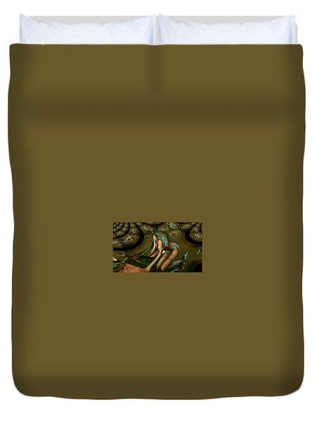 Jade Forest Duvet Cover