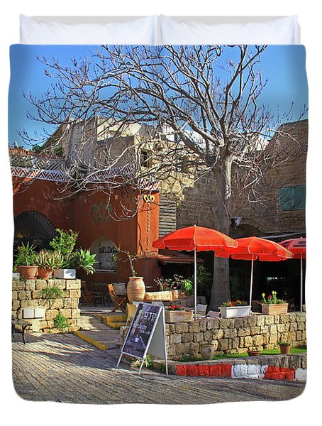 Jaffa, Israel Duvet Cover
