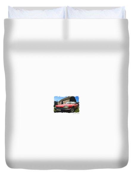 Jaguar Xjs - 1 Duvet Cover